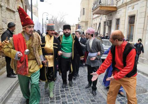 People celebrate Novruz